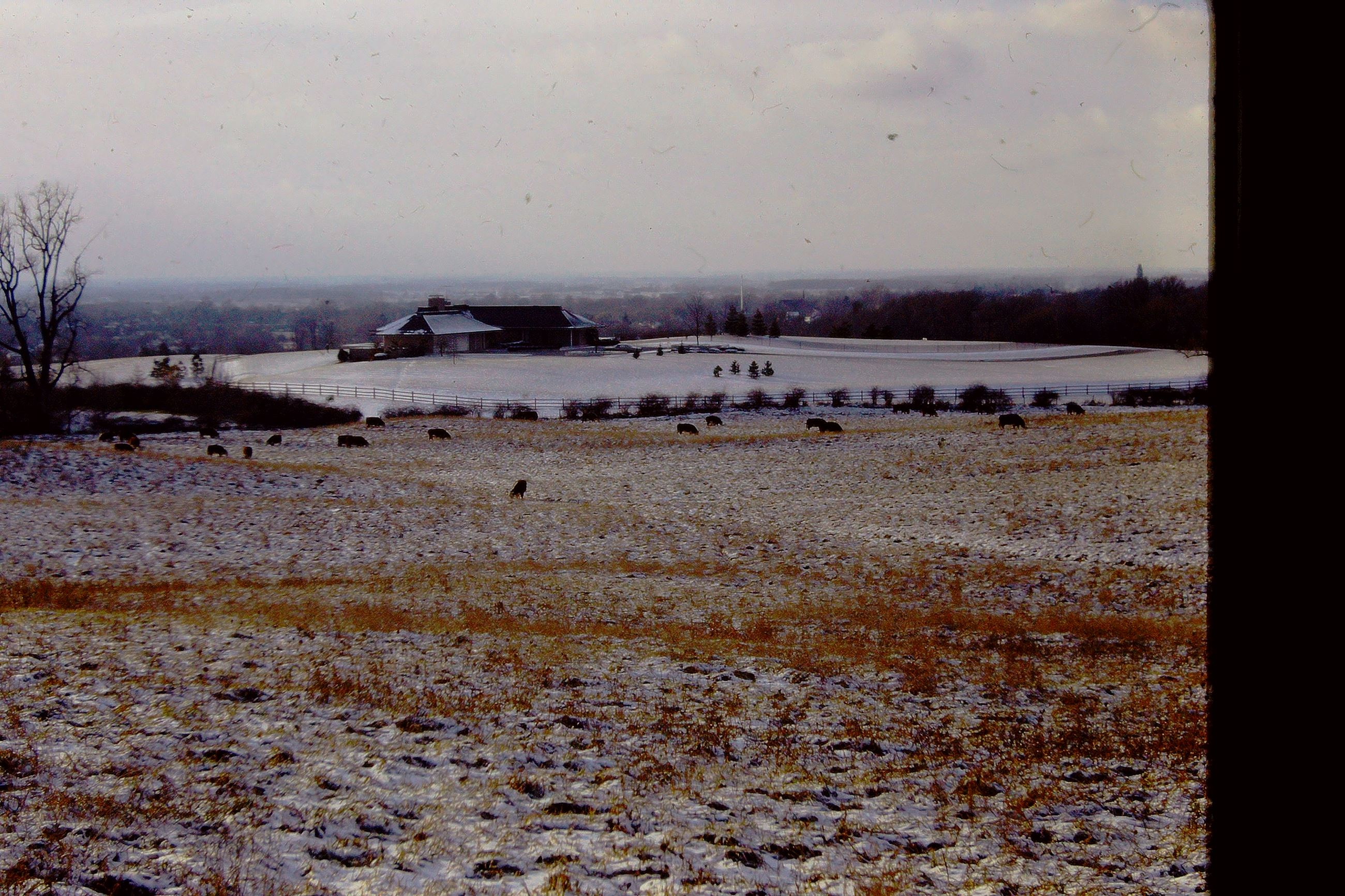 1969 looking southwest over ce knowlton farm c rd 10 jefferson