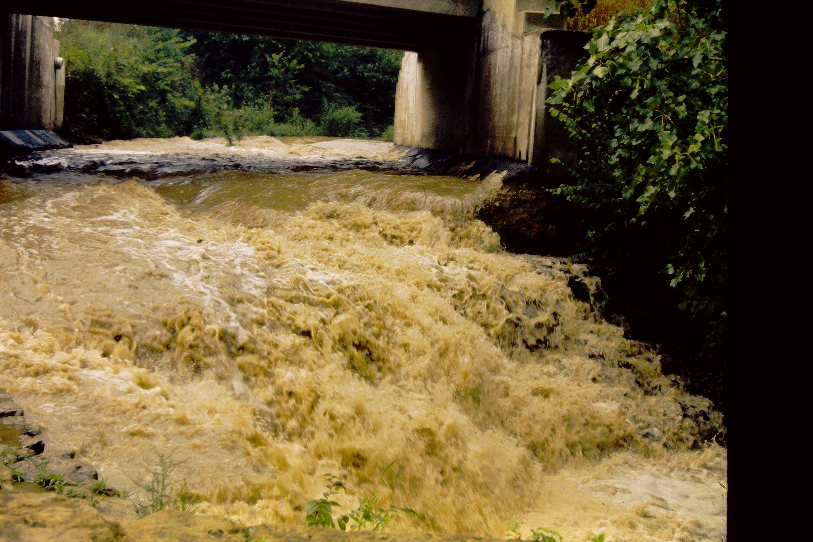 1973 sediment pollution mad river after july rain jefferson